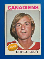 Guy Lafleur 1975-76 O-Pee-Chee  Hockey Card #126 Montreal Canadiens OPC