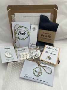 Father Of The Groom Gift Set From Groom Wedding Gift Dad Personalised Thank You