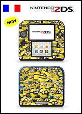 MIGNONS -  Piel De Vinilo Adhesivo Para Nintendo 2DS - Réf 141