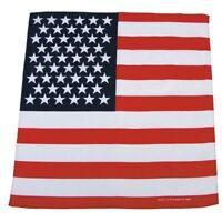 USA BANDANA US Tuch Halstuch Kopftuch Schal BW Army Biker Stirnband Schweissband