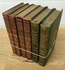 Sir Walter Scott: 6 Titles inc. Woodstock, Waverley, Talisman, Kenilworth c.1910