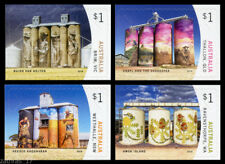 2018 Silo Art - Set of 4 Self Adhesive Booklet Stamps - MUH