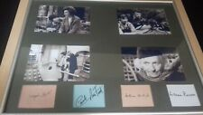 More details for dr who first 4 members autographs.william hartnell/jacqueline hill