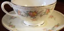 Homer Laughlin Countess, Georgian Eggshell Tea Cup and Saucer