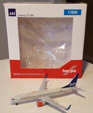 HERPA WINGS 1:500 SAS Scandinavian Airlines Boeing 737-800. LN-RRJ. 527323
