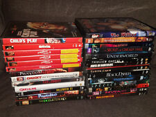Lot of 27 Horror DVD Movies Childs Play Nightmare on Elm The Willies Pumpkinhead