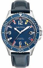Nautica NAPJBF912 STEEL 316 L BLUE Automatic Watch