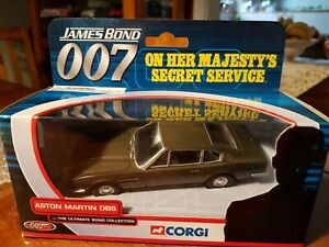 2002 Corgi James Bond Aston Martin DBS 'On Her Majesty's Secret Service'