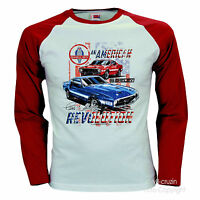 * Ford Mustang Shelby Vintage Auto Baseball  Lizenz T-Shirt Musclecar *0191 LS