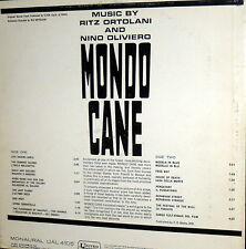 OST MONDO CANE LP RITZ ORTOLANI E NINO OLIVIERO  -  USA