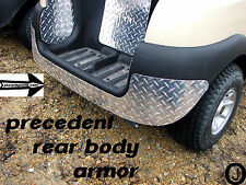 Club Car PRECEDENT golf cart Aluminum Diamond plate REAR BODY ARMOR