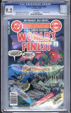 World's Finest #255 CGC NM- 9.2 Superman Batman