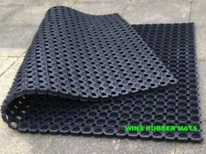 Rubber Grass Mat/Horse Stable/Cow/Pony/gateway 1500mmx1000mmx 23mm Free post