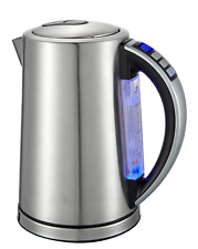 Self-Mate Temperature Control Electric Hot Water Kettle – Variable Temp Steel &