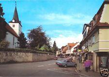 AK, Bad Sachsa Südharz, Schulstr mit Kirche, 1996