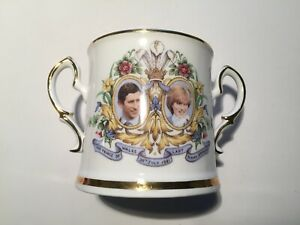 Royal Stafford Loving Cup for the 1981 Wedding of Prince Charles & Lady Diana