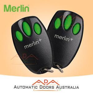 C945 Merlin Garage Remote Suits MR650 & MR850 Garage Door Motors ChamberlainXTwo