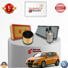 KIT TAGLIANDO 4 FILTRI VW GOLF V 1.6 FSI 85KW 115CV DAL 2004 -> 2009
