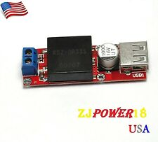 4PCS 5V USB DC 7V-24V to 5V 3A StepDown Buck KIS3R33S Module For Arduino LM2596