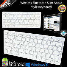 Slim Silver 3.0 Bluetooth Wireless Keyboard For Apple iMac MacBook iPhone New UK