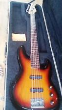 1991 Fender Jazz Bass 5 String Sunburst Lace Sensor Kubicki Factor Tone Control