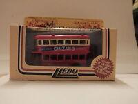 LLEDO DG15005A 1932 AEC REGENT DOUBLE DECK BUS – LONDON TRANSPORT - CINZANO