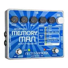Electro Harmonix Stereo Memory Man w/ Hazarai Digital Delay & Looper for Guitar