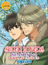 Super Lovers Anime DVD (Season 1+2) with English Subtitle