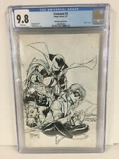 CGC 9.8 Crossover #3 1:100 Variant  Todd McFarlane B&W Sketch Cover