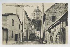 Postcard St James Street Lower Town BW Street Car Quebec Canada*