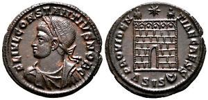 CONSTANTIUS II (328 AD) Ae3 Follis. Siscia #NB 7814