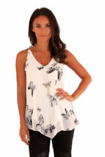 Butterfly V Neck 3/4 Sleeve Tops & Shirts for Women