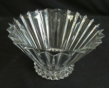 More details for rosenthal classic lead crystal footed bowl 25cm dia. stunning.        sh22