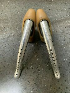 CAMPAGNOLO SUPER RECORD 4062 VINTAGE BRAKE LEVERS w/ NEW HOODS 1970/80s *VGC*