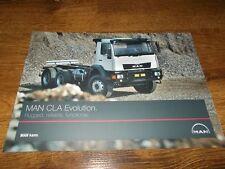 MAN CLA Evolution Trucks Brochure Prospekt Catalogue
