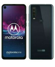 Motorola One Action brand new sealed - 128GB - Denim Blue (Unlocked) (Dual SIM)