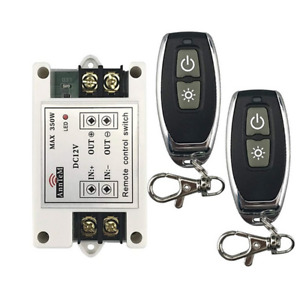 Car Wireless Remote Control Battery Switch DC 12V Terminal Master Kill System