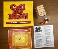 Call My Bluff Classic TV Board Game 1999 Lamond Games