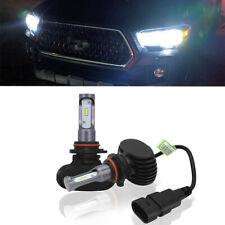 2x White 9005 HB3 8000LM Car LED Headlight Bulbs Driving Light Lamp High Power