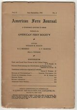 American Fern Journal July-September, 1941 Vol. 31 No. 2 (Quarterly) Botany
