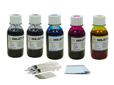 5x100ml refill ink for HP 564 XL Photosmart B210 C309 C310 C410 C510 C6340 C6350