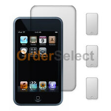 3X Clear LCD Screen Shield Guard Protector for Apple iPod Touch 2 3 2nd 3rd Gen
