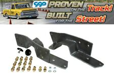1963-1972 CHEVY C10 GMC TRUCK REAR FRAME C NOTCH C-NOTCH KIT BOLT IN