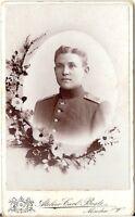 CDV photo Soldat Regiment 15 - Minden 1900er