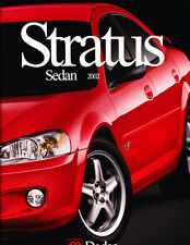 2002 Dodge Stratus and R/T RT 24-page Original Car Sales Brochure Catalog