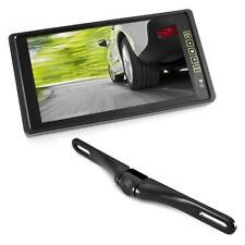 "Pyle PLCM9200 9.2"" TFT/LCD Mirror Monitor +License Plate Backup color Camera"