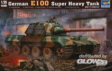 Trumpeter German E100 Entwicklungsfahrzeug Super Heavy Tank 1:35 Bausatz 00384