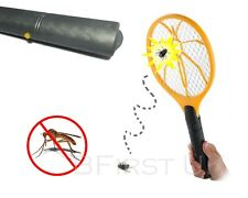 Electronic Racket Bug Zapper Mosquito Fly Wasp Swatter Electric Insects Killer