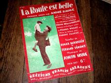 la route est belle chanson du film La Route est Belle piano chant 1931 Szulk