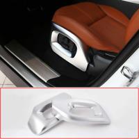 2* Chrome Seat Side Frame Cover Trim For Range Rover Sport Autobiography 2014-17